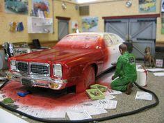 Paint shop Diorama