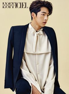 Well on his way to making his name known in the acting world, Nam Joo Hyuk was chosen to cover the November issue of L'Officiel Hommes. This is another young man we're impressed with an…