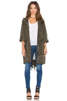 Mackage Norma Coat in Army