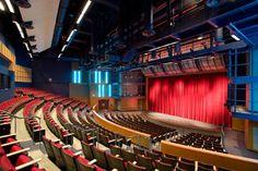 . Theater Plan, Theatre, Auditorium Architecture, Design Consultant, State Art, High School, Castle, How To Plan, Building