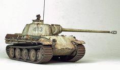 Armorama :: Panther G by Brent Watterson Tamiya Model Kits, Tamiya Models, Model Tanks, Military Modelling, Ww2 Tanks, Panzer, Model Building, Plastic Models, Scale Models