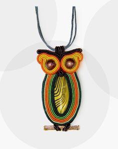 soutache owl http://manufakturapomyslu.com/shop/wisiorek-sutasz-sowka-zielona/