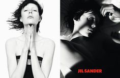 The Best of Fall 2013 Campaigns - Fall/Winter 2013 Designer Ad Campaigns Jil Sander Model: Edie Campbell