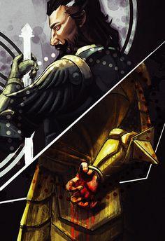 """Blackwall's Greatest Fear"" Tarot Card, by ividraws - Dragon Age: Inquisition"