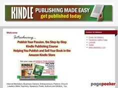 very good Kindle Publishing Made Easy - eGuide & Video Tutorial