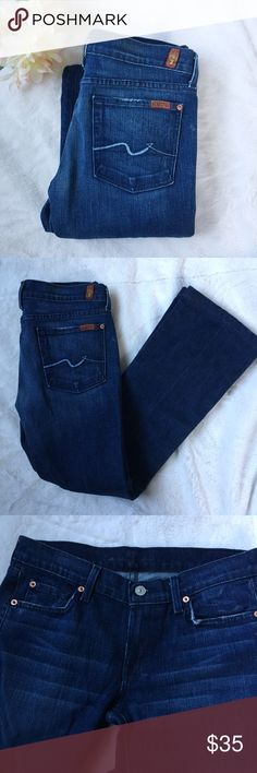 7 All of Mankind Jeans Like new seven jeans • size 28 • boot cut • 98% cotton, 2% elastane 7 For All Mankind Jeans Boot Cut