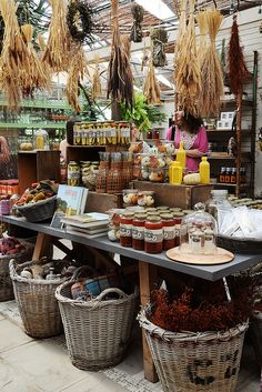 Kitchen / housewares display at Terrain (garden store with locations in Glen Mills, PA and Westport, CT).  Photo:  Creature Comforts, via Flickr