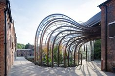 Bombay Sapphire Distillery by Heatherwick Studio and GWP Architecture. Location: Hampshire, England. Photography by Iwan Baan.
