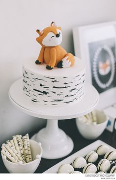 Gâteau renard anif Sami.