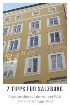 Bei einem Blogbeitrag über Salzburg darf ein Besuch bei Mozarts Geburtshaus nicht fehlen. Meine Tipps für Salzburg inkludiert auch einen Besuch am Kapuzinerberg. #salzburg #mozart #reiseblog Salzburg, Innsbruck, Austria, Places Ive Been, Gallery Wall, Windows, Frame, Europe, Birthing Center