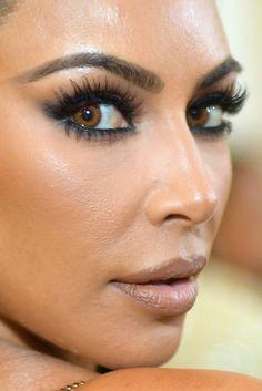 kim kardashian - met gala makeup kim kardashian met gala met gala 2018 red carpet makeup celeb celebrity celebritycloseup