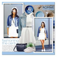 """""""Get the look"""" by jenny007-281 ❤ liked on Polyvore featuring Boohoo, romwe, polyvoreeditorial and summer2015"""