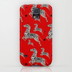 This amazing Zebra Masai Scalamandre Samsung Galaxy Case from The Royal Tenenbaums movie is a one-piece, impact resistant, plastic hard case