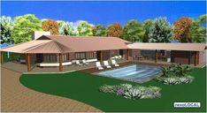 Resort Style, Colonial, Rio, Pergola, Deck, House Design, Country, Architecture, Outdoor Decor