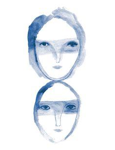 iris schwartz - les tetes bleues
