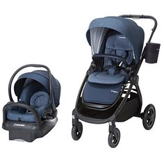 Maxi-cosi Adorra All-in-One Modular Travel System with Mico Max 30 Infant Car Seat, Nomad Blue Car Seat And Stroller, Baby Car Seats, Small Baby, Prams, Traveling With Baby, Baby Registry, Baby Gear, New Baby Products, Baby Strollers