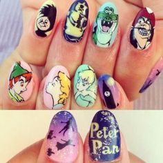 Peter pan nail!