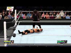 WWE 2K16 - Curtis Axel vs. Mark Henry - YouTube