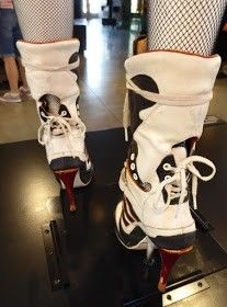 Harley Quinn Adidas shoes back Suicide Squad
