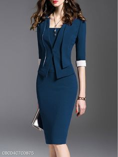 business attire tips Corporate Attire, Business Attire, Business Casual, Casual Work Attire, Office Attire, Professional Attire, Business Professional, Ladies Dress Design, Work Fashion