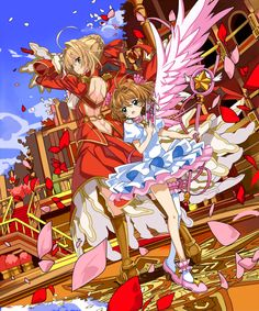 Nero Claudius and Cardcaptor Sakura