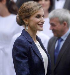Queen Letizia and King Felipe visit San Sebastian
