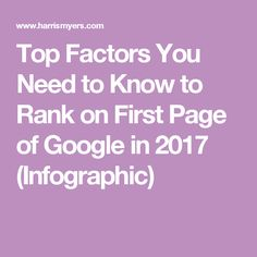The changing dynamics of the global market and of the search engine has prompted almost all businesses to adapt to latest trends in SEO. First Page, Factors, Search Engine, Need To Know, Infographic, Branding, Google, Top, Infographics