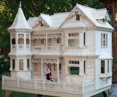 Victorian Barbie Doll House I don't have this one, but I do have one that was just as big!!! This is beautiful!!!