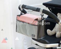 2017 wholesale baby stroller organizer, outdoor travel hanging Stroller organizer bag