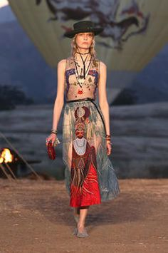 Dior Cruise 2018 with The Motherpeace Tarot