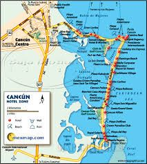 image detail for cancun map mexico maps cancun mexico maps mtn vacations