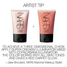 Nars makeup tips. :). I use this most of the time when I go out!