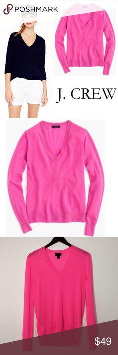 J. Crew Collection Italian Cashmere Sweater ✔️Excellent Condition!  ✔️V-Neck ✔️100% Cashmere ✔️Listing #1476 J. Crew Sweaters