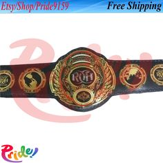 Ring Of Honor, World Heavyweight Championship, Professional Wrestling, Fifa, Best Gifts, Brand New, Etsy Shop, Belt, Rings