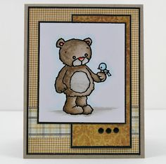 My Noteworthy Cards: Beary Special