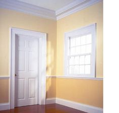 1000 images about wall opening ideas on pinterest door for What is the trim around a door called