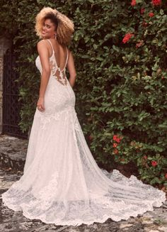 "A resounding ""Yes!"" to shimmery texture, a sweetheart neckline, and an ultra-flattering silhouette in this sexy low-back mermaid wedding dress. Wedding Dresses Sydney, Wedding Dress Pictures, Designer Wedding Dresses, Sydney Wedding, Nude Gown, Blush Gown, Bridal Lace, Bridal Gowns, Wedding Gowns"