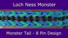 cool Monster Tail® Loch Ness Monster Bracelet by Rainbow Loom