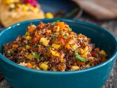 Red Quinoa and Mango Salad recipe from Guy Fieri via Food Network