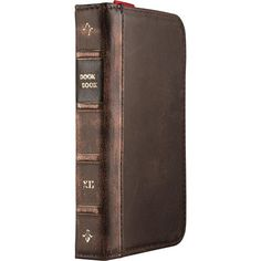 Twelve South BookBook Carrying Case (Wallet) for iPhone - Vintage - Leather