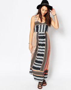 Image 4 - ASOS Maternity - Maxi robe de plage à imprimé bohème