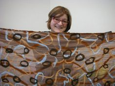 How to make a nuno felted scarf: a series of short videos by Barbara Poole