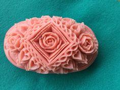 カービングサロン ゆう(優・悠・遊・友……) ソープカービングSoap carving work#craft#石鹸彫刻#Soap flower