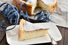 Migliaccio - a traditional semolina and ricotta cake made in Naples for Carnevale.