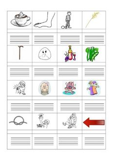 ÍRD LE A KÉPEK NEVÉT! FELADATLAPOK - webtanitoneni.lapunk.hu Dysgraphia, Dyslexia, Grade 1, Grammar, Language, Writing, Education, Reading, School
