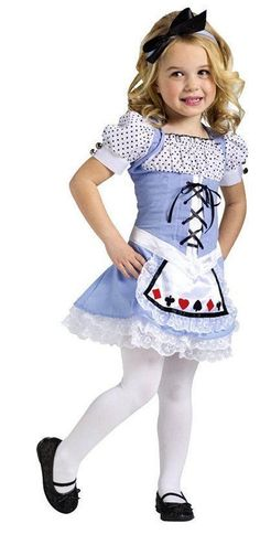 Costumes! Alice in Wonderland Little Alice March of the Cards Girls Costume Set #fw #CostumeDress