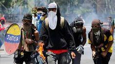 Protesta opositora tocó la puerta de cuarteles mientras Maduro apoya a los militares