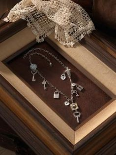 """Tokens™ """"Lock & Key"""" Necklace 