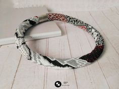 Grey and black beaded crochet necklace with a picture of wolf, necklace in an unusual design, denim style rope as a gift for wife's birthday Bead Crochet, Crochet Necklace, Wolf Pictures, Birthday Gift For Wife, Game Of Thrones Fans, Gifts For Wife, Denim Fashion, Christmas Gifts, Gift Ideas