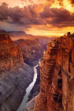 Colorado River, Toroweap Overlook, Grand Canyon National Park, Arizona; photo by Peter Lik